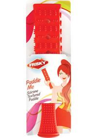 Frisky Paddle Me Textured Silic Paddle