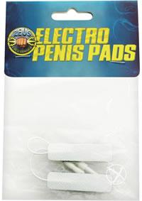 Zeus Adhesive Penis Pads 2pk