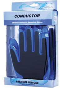 Zeus Conductor Estim Gloves