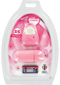 Remote Love Missle Egg Pink