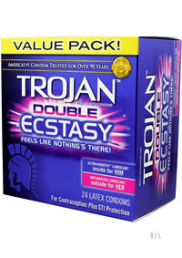 Trojan Double Ecstasy 24 Pk