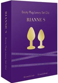 Rianne S Bootyplug Set 2x Metal