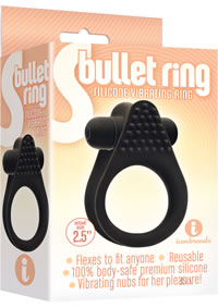 The 9 Bullet Ring Black