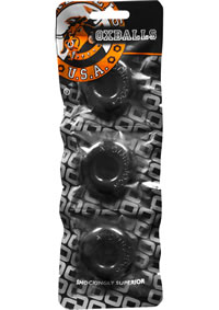 Ringer 3pk Do-nut 1 Black