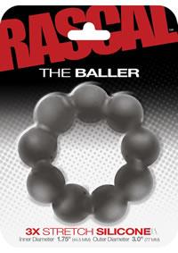 Rascal Baller Cockring Gray (disc)