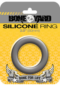 Boneyard Silicone Ring 50mm Gray