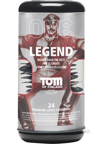 Tof Legend Condoms 24pk (disc)
