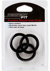 3 Ring Kit Xl Black