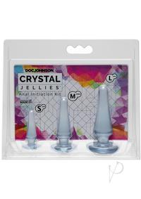 Crystal Jellies Anal Initiation Kit Clr