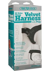 Vac U Lock Ez Rider Thong Harness (disc)