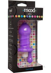 Mood Juicy Swirled Plug Purple