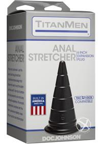 Titanmen Anal Stretcher 6 Black