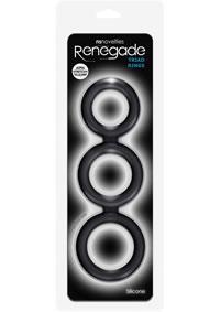 Renegade Triad Cock Ring Black