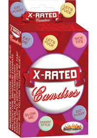 X Rated Candy 24/display W Assorted Sayi