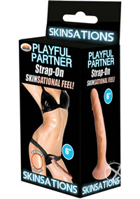 Playful Partner Harness With Dildo 6