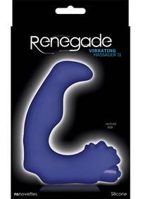 Renegade Vibratin Massager Ll Blue(disc)