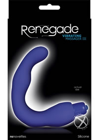 Renegade Vibrating Massager Lll Blue