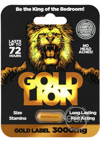 Gold Lion Male Enhancement 24/disp