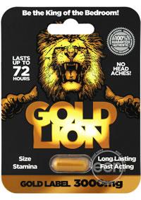 Gold Lion Male Enhancement 24/disp
