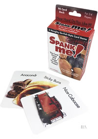 Spank Me Naughty Card Game