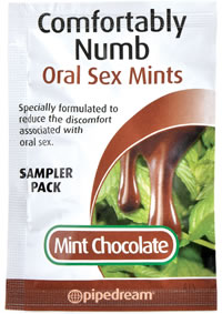 Comfortably Numb Mints Chocolate Sampler