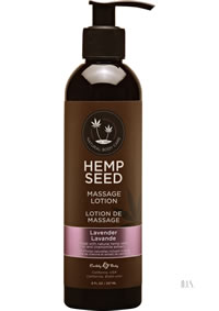 Hemp Massage Lotion Lavender 8oz