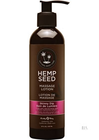 Hemp Massage Lotion Skinny Dip 8oz