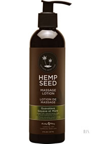 Hemp Massage Lotion Guavalava 8oz