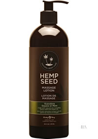 Hemp Massage Lotion Guavalava 16oz