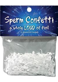 Sperm Confetti