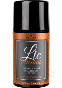 Licolicious Oral Cream Salt Caramel 1.7