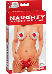 Naughty Pastie and Panty Set