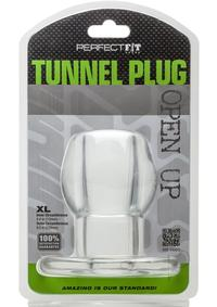 Tunnel Plug X-large Clear