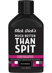 Slick Dicks Silicone Lubricant 1oz