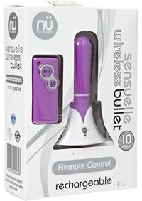Sensuelle Remote Wireless Bullet Purple