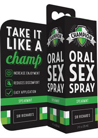 Slick Dicks Champion Oral Sex Spray