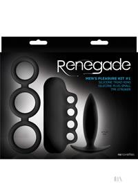 Renegade Mens Pleasure Kit #1 Black