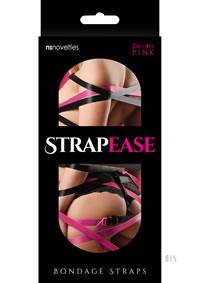 Strap Ease Bondage Straps 4` Pink