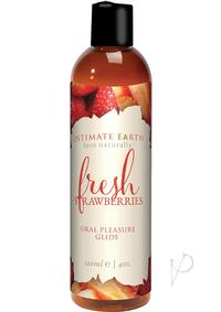 Fresh Strawberries Flavored Lube 4oz