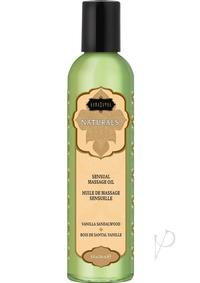 Naturals Massage Oil Vanilla Sandalwood