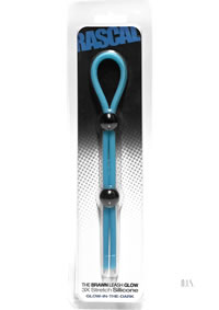 Rascal Brawn Cock Leash Glow Blue