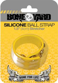 Boneyard Silicone Ball Strap Yellow