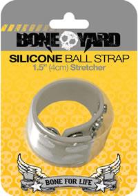 Boneyard Silicone Ball Strap Gray