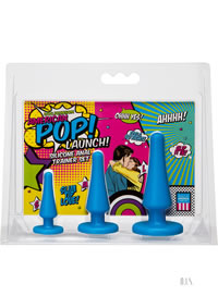 American Pop Launch Anal Set Blue