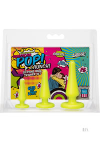 American Pop Launch Anal Set Yellow