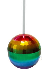 Disco Ball Cup Rainbow
