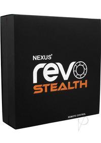 Revo Stealth Prostate Massager Black