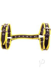 Rouge Halter Harness Lg Black/yellow