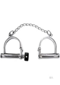 Rouge Wrist Shackles Stainless Steel