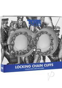 Tof Locking Chain Cuffs